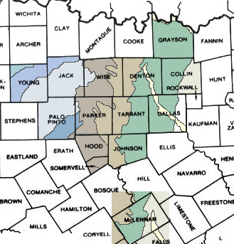 Maps Of North Texas